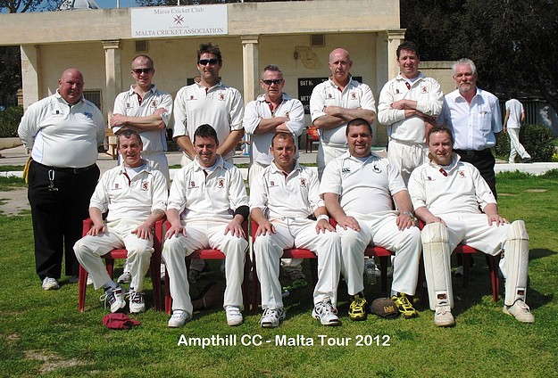 Marsa C.C beat Ampthill Town C. C in a forty over game