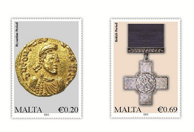 MaltaPost definitive issue - Additional values set of 2 stamps