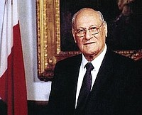 Former President Dr Censu Tabone to be buried in Gozo