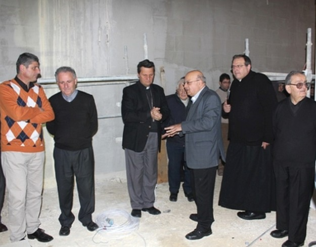 Gozo Bishop visits the Museum & Cultural Centre project