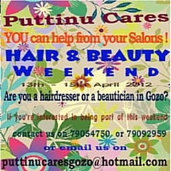 Hair & Beauty Weekend for Gozo Puttinu Cares Foundation
