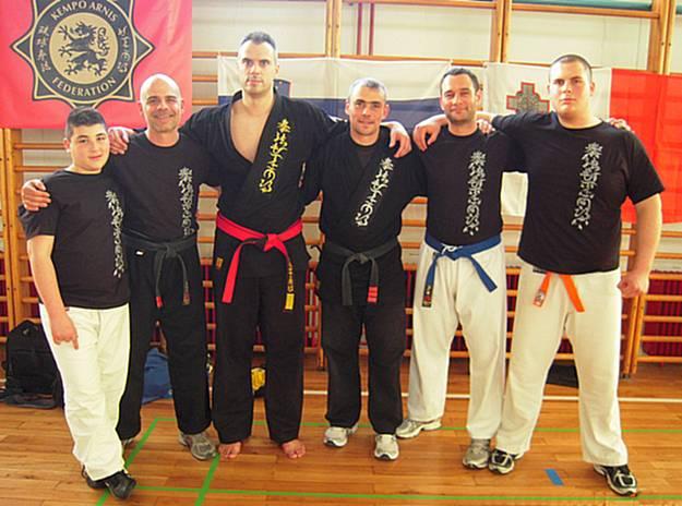 Gozo Kempo Karate school represents Malta in Slovenia