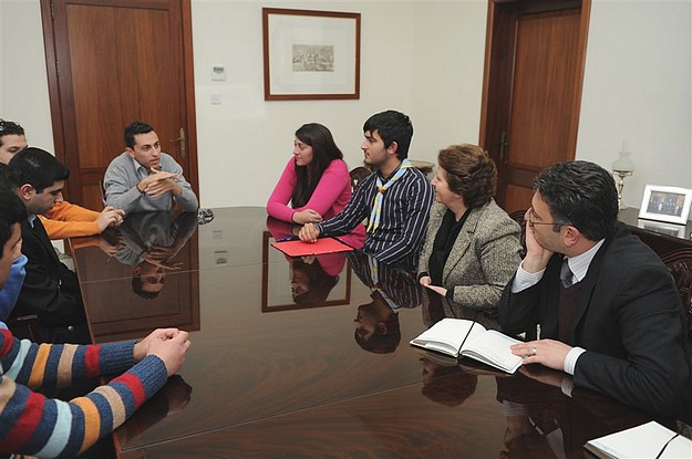 Youths meet to discuss the Gozo Regional Youth Council