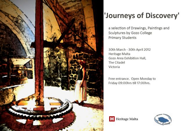 Journeys of Discovery 2nd edition at Gozo Exhibition Hall