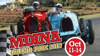 Malta's Historic and Classic Car Mdina Grand Prix 2012