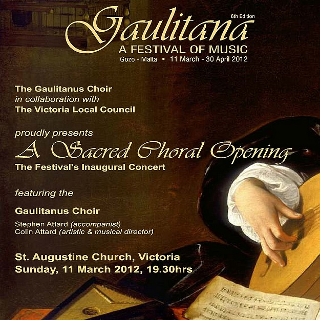 Sacred music concert starts Gaulitana: A Festival of Music