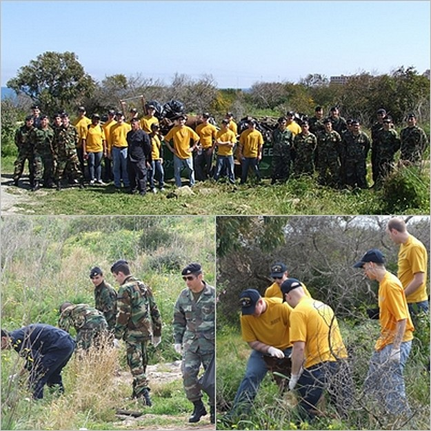 Joint operation in clean-up of Pembroke Natura 2000 site