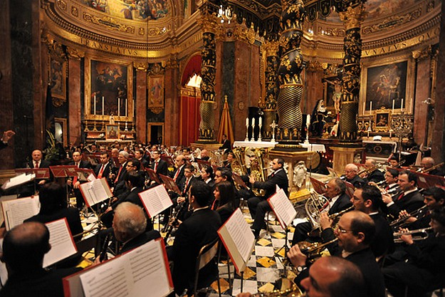 Sacred Music Concert taking place at St George's Basilica