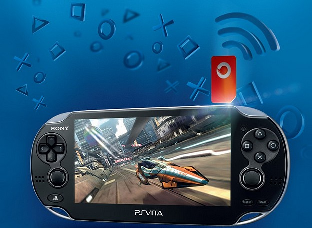 3G Gaming on the new Sony PS Vita powered by Vodafone