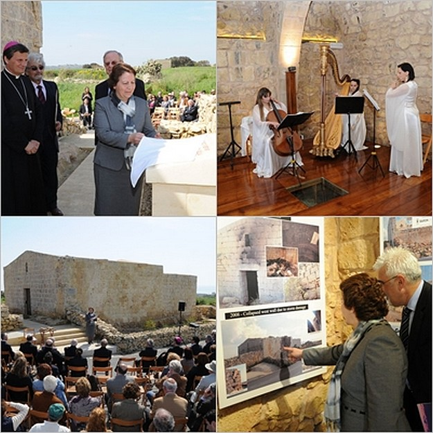 Inauguration takes place of St Cecilia Chapel in Ghajnsielem