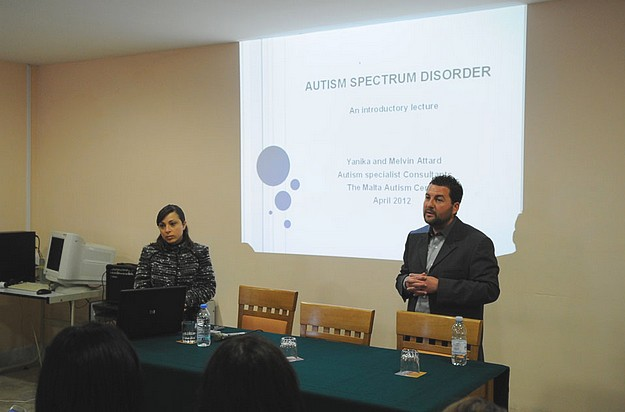 Autism Spectrum Disorders talk held at Santa Marta Centre