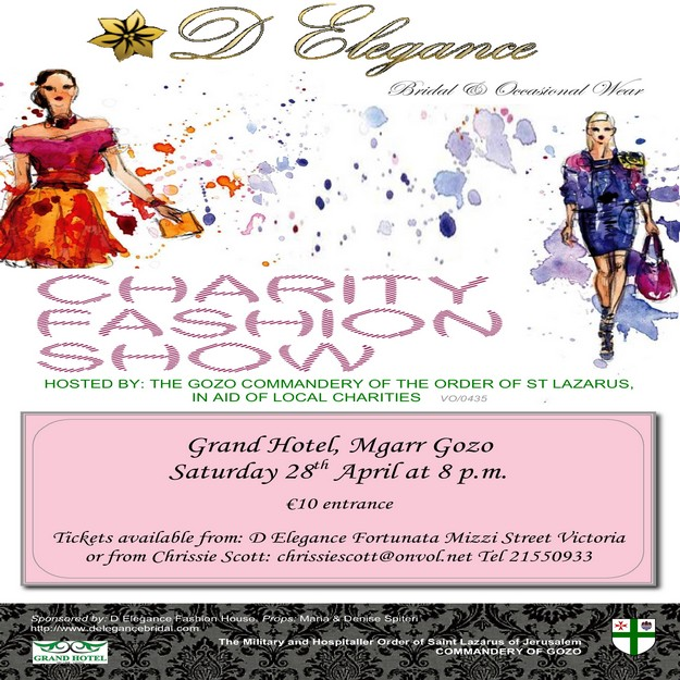 Charity fashion show by D Elegance Fashion House, Victoria
