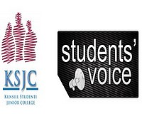 KSJC and Student's Voice coact against student's apathy