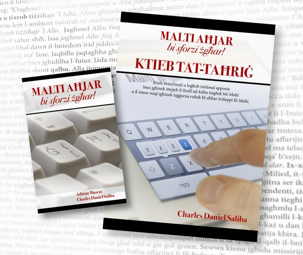 Small Effort, Better Maltese! A new book by Charles Saliba