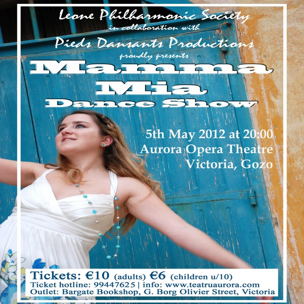 Mamma Mia Show being staged this Saturday at the Aurora