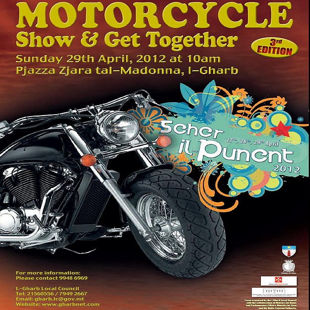 Motorcycle Show & Get Together at 'Seher il-Punent' Gharb