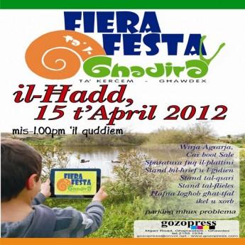 28th edition of Fiera Festa tal-Ghadira to be held at Kercem
