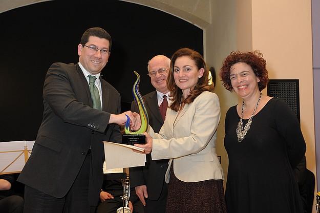 'Konkors Letteratura ghaz-Zghazagh' awards ceremony