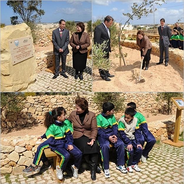 Recreation area inaugurated at id- Dahla tac-Cnus, Sannat