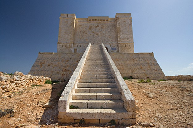 Fortifications of the Knights & natural landscape of Comino