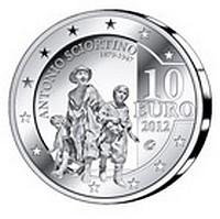 CBM Antonio Sciortino commemorative gold and silver coins