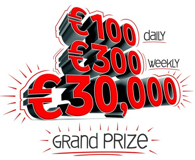 Grand prize of €30,000 to be won with Vodafone Play & Win