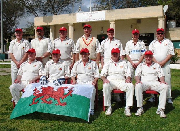 Wales O 50's keep Marsa C.C on their toes this weekend