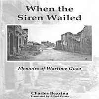 'When the Siren Wailed' - Book launch on wartime Gozo
