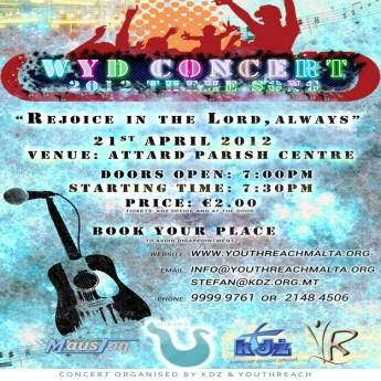 World Youth Day Concert - A feast of live music for youths