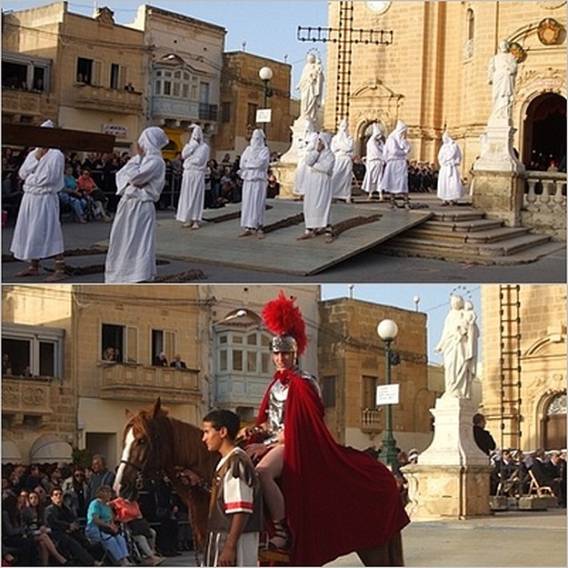 Xaghra Easter Pageant - A personal view by Barbara Day