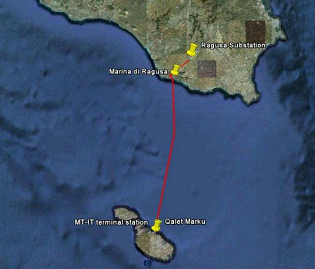 Installation of the Malta & Sicily interconnector gets underway