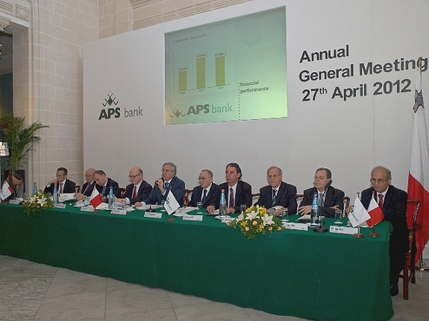 APS Bank registers a profit of €8.4 million before tax in 2011