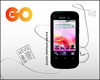 Alcatel OneTouch 918 smartphone available at GO outlets