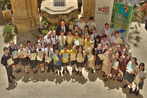Children discuss environmental concerns in Dear Minister!
