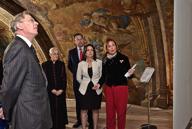 Duke of Gloucester visits Our Lady of Victories Church