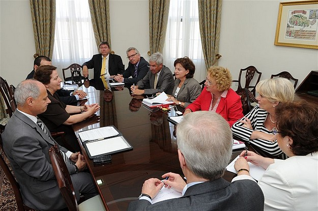 German delegation meet for talks with the Minister for Gozo