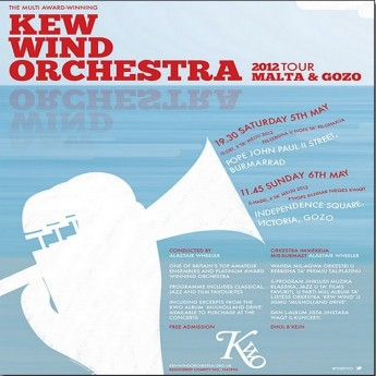 JP2 Foundation concert by the UK's Kew Wind Orchestra