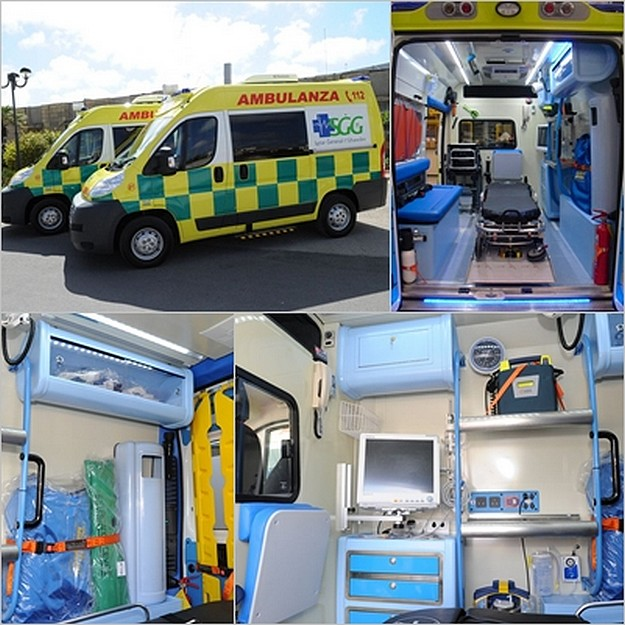 Two new ambulances inaugurated for Gozo General Hospital