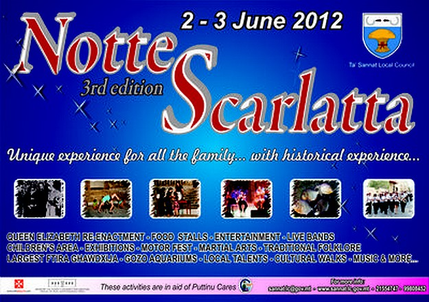 Notte Scarlatta taking place over this weekend in Sannat