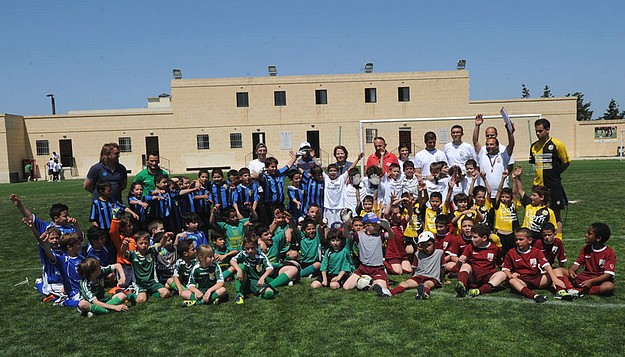 The Gozo Football Marathon 2012 draws good crowds