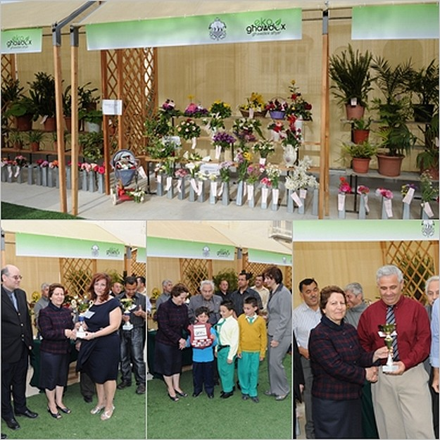 Winners at annual Spring Show in the Villa Rundle Gardens