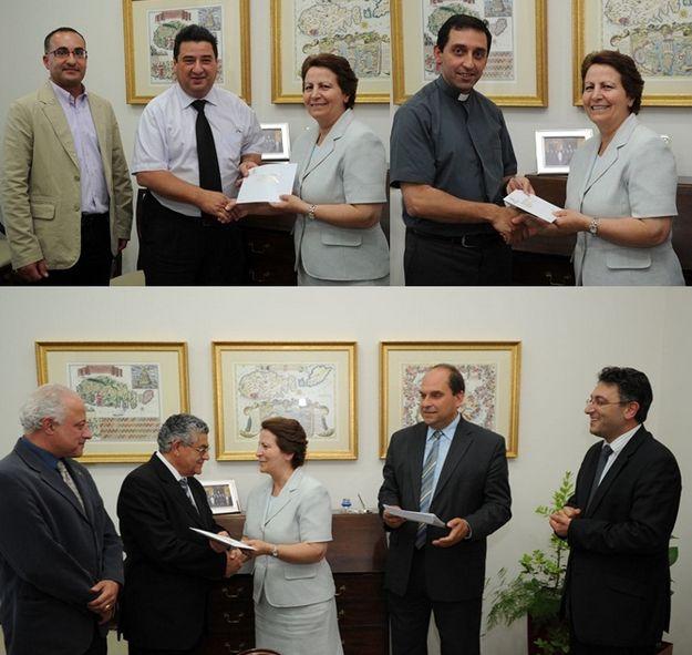 Gozitan NGOs presented with funds under eco-Gozo scheme
