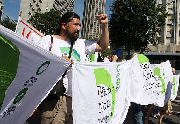 """Rio+20 Summit condemned as sell out of people &  planet"""