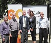 GO's Chief Executive Officer visits Caritas Centre, San Blas