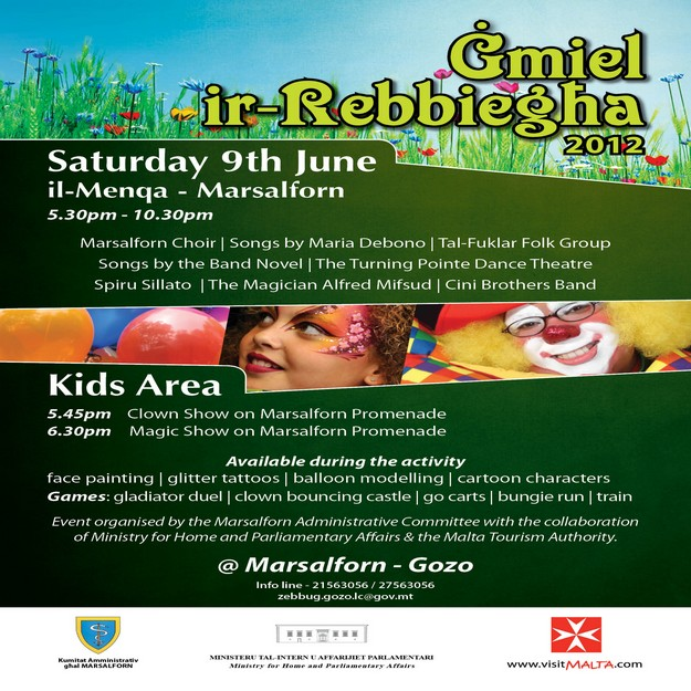 'Gmiel ir-Rebbiegha' a fun event in Marsalforn next Saturday