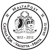 Special Hand Postmark issued - National Library of Malta
