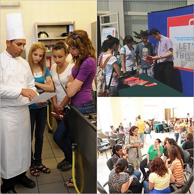 Students enjoy an informative 'Open Evening' at ITS Gozo