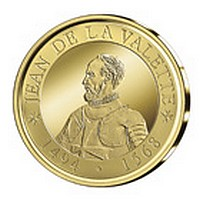 Medal issue featuring Grand Master Jean de La Valette