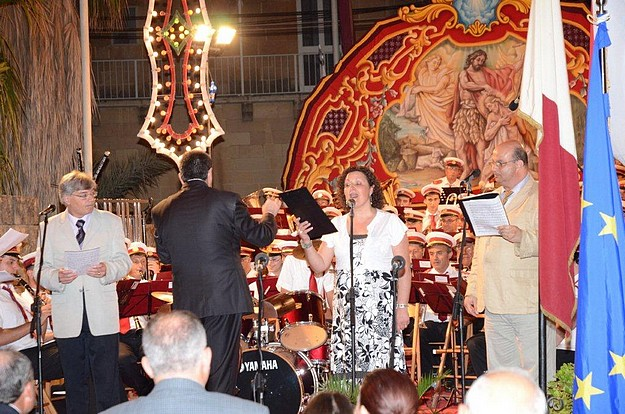 Annual June concert held by the  Prekursur Band of Xewkija