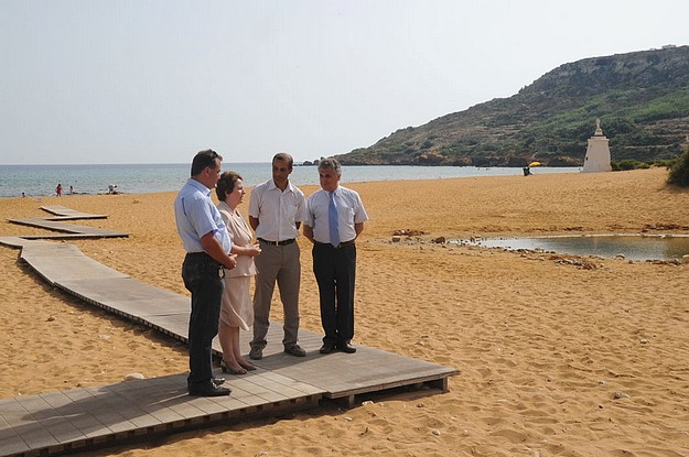 Ramla Bay officially launched as first Blue Flag beach in Gozo